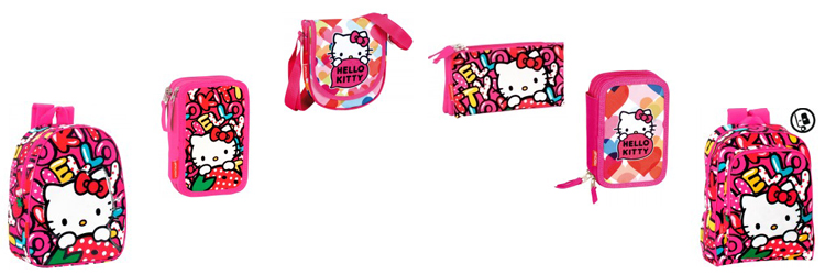 Productos escolares de Hello Kitty