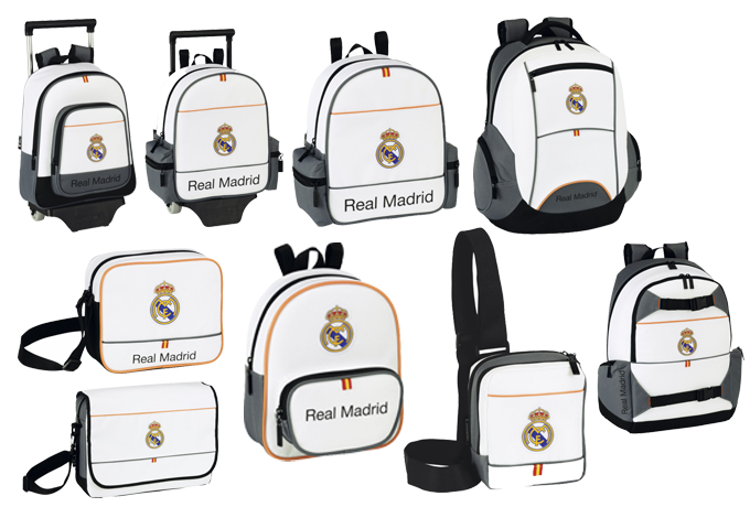 MOCHILAS REAL MADRID VIVA EL COLE