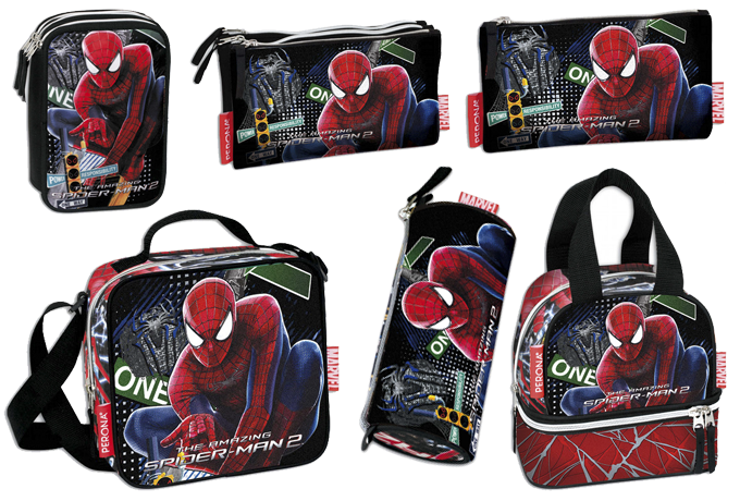 material escolar spiderman viva el cole