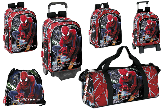mochilas spiderman viva el cole