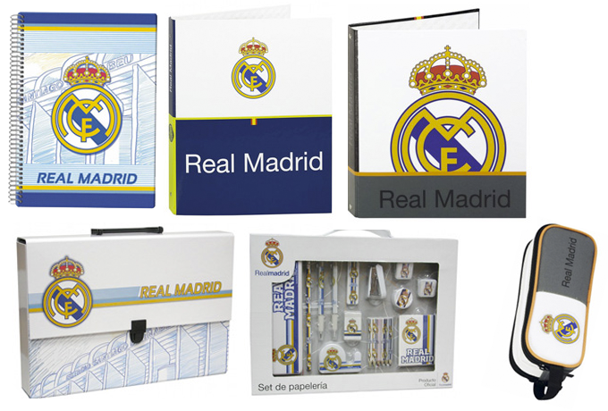 MATERIAL ESCOLAR REAL MADRID VIVA EL COLE