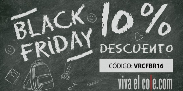 Black friday en viva el cole