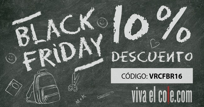 Celebra el Black Friday en Viva el Cole