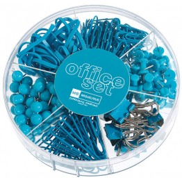 Office Set Candy Colours Turquoise