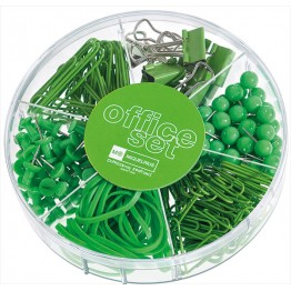 Office Set Candy Colours Apple Green