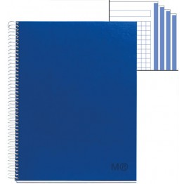 Cuaderno A4  Candy Colours Astral Blue 120 Hojas