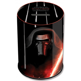 Hucha Cubilete de Metal Star Wars Episode VII