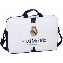 Funda para Ordenador 15,6' Real Madrid