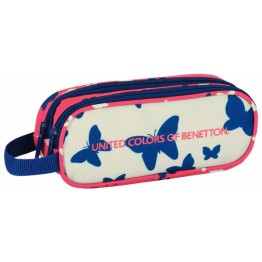 Estuche Benetton Butterfly Doble