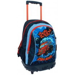 Mochila Junior Totto Fury Road con Ruedas
