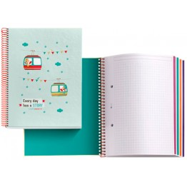Cuaderno A5  Tutti Confetti Bestseller 120 Hojas