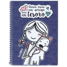 Cuaderno A5 Love & Child Lúa