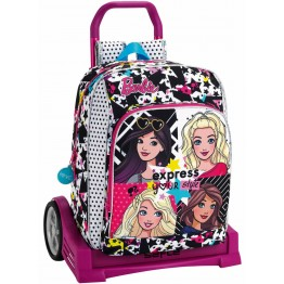 Mochila Barbie con Carro Evolution
