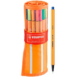 Stabilo Point 88 Fineliner Rollerset 30 Unidades