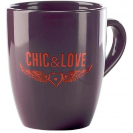 Taza Chic & Love Purple
