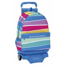 Mochila Benetton Stripes con Carro