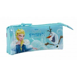 Estuche Frozen Adventure Triple