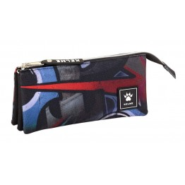 Estuche Kelme Graffiti Triple