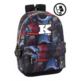 Mochila Adaptable Kelme Graffiti