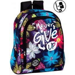 Mochila Adaptable Perona Never Give Up