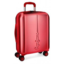 Trolley de Cabina Pepe Jeans Cambridge Red 55 cm