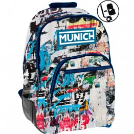 Mochila Adaptable Munich Graffiti Reforzada