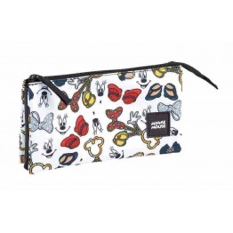 Estuche Minnie Mouse Teen Triple