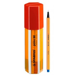 Stabilo Point 88 Fineliner Big Point Box Red 20 Colores