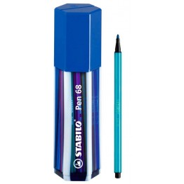 Stabilo Pen 68 Big Pen Box Blue 20 Colores