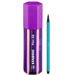 Stabilo Pen 68 Big Pen Box Purple 20 Colores
