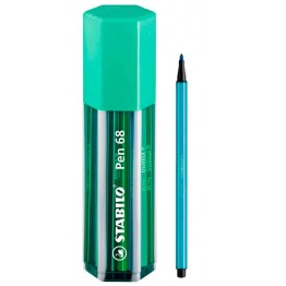 Stabilo Pen 68 Big Pen Box Green 20 Colores