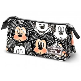 Estuche Triple Mickey Mouse Oh Boy!