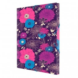 Carpeta Milan Bloom Tres Solapas