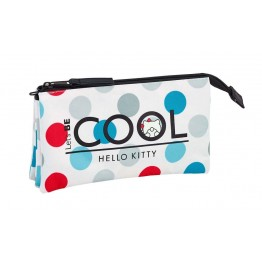 Estuche Hello Kitty Cool Triple