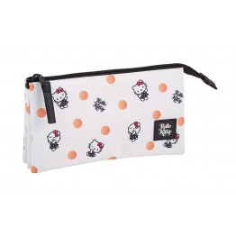 Estuche Hello Kitty Polka Dots Triple