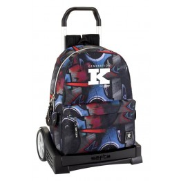 Mochila Kelme Graffiti con Carro Evolution