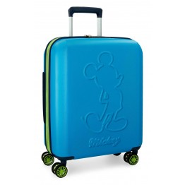 Trolley de Cabina Mickey Colored Blue 55 cm