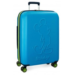 Maleta Mickey Colored Blue 68 cm