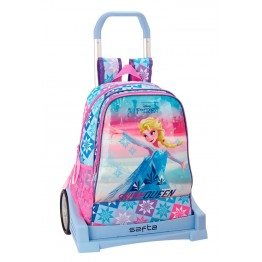Mochila Frozen Ice Magic con Carro Evolution
