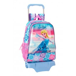 Mochila Frozen Ice Magic con Carro