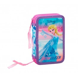 Estuche Frozen Ice Magic Doble 28 Piezas