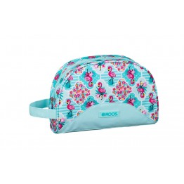 Neceser Adaptable Moos Flamingo Turquoise
