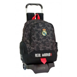 Mochila Real Madrid Black con Carro