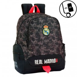 Mochila Real Madrid Black Adaptable