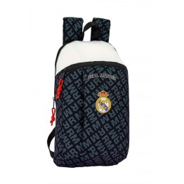 Mini Mochila Real Madrid Black & White