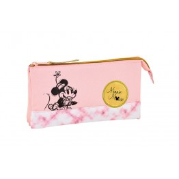Estuche Minnie Mouse Blogger Triple