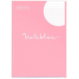 Bloc Notebook 1 A4 Emotions Rosa 80 Hojas