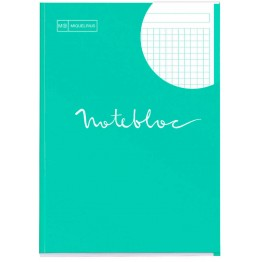 Bloc Notebook 1 A4 Emotions Menta 80 Hojas
