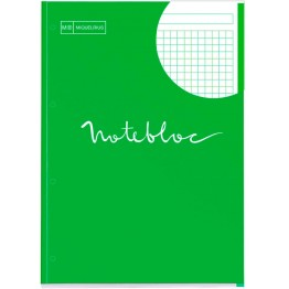 Bloc Notebook 1 A4 Emotions Verde 80 Hojas