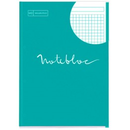 Bloc Notebook 1 A4 Emotions Turquesa 80 Hojas